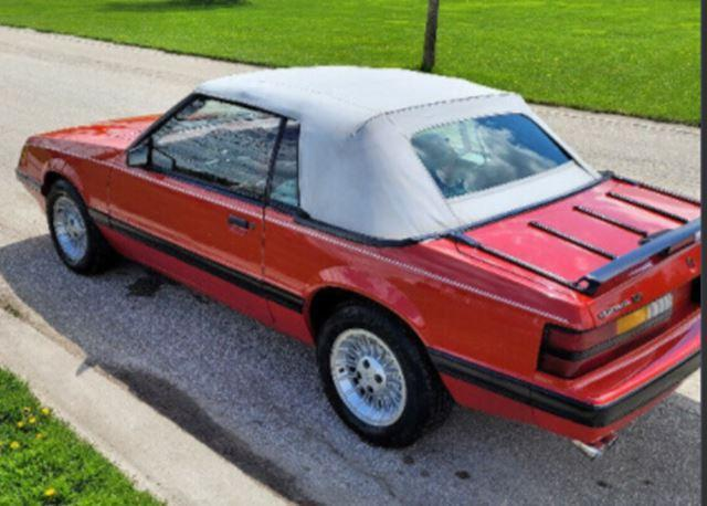 1986 Ford Mustang LX FOX-BODY CONVERTIBLE