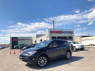 Used 2017 Toyota RAV4 Hybrid 2.99% Financing - LTD AWD - NAVI - SUNROOF - LEATHER for sale in Oakville, ON