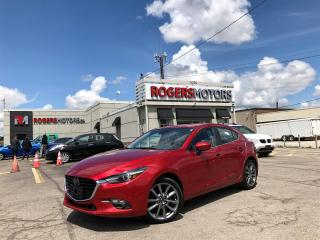 Used 2018 Mazda MAZDA3 2.99% Financing - GT - HATCH - NAVI - SUNROOF - LEATHER for sale in Oakville, ON