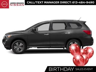 New 2020 Nissan Pathfinder SV Tech for sale in Kingston, ON