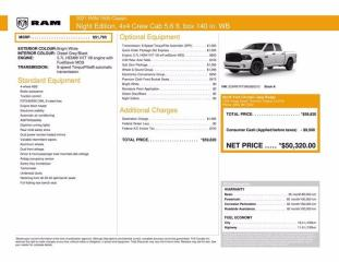 New 2021 RAM 1500 Classic Express|Night edition|Sub Zero|Wheel and Sound Grp for sale in Thornhill, ON