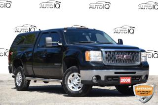Used 2008 GMC Sierra 2500 HD SLT ACCIDENT FREE | SUNROOF | 6.0L V8 | LEATHER for sale in Kitchener, ON