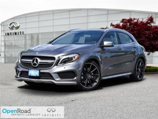 Used 2016 Mercedes-Benz AMG GLA 4MATIC SUV for sale in Langley, BC