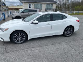 Used 2018 Acura TLX Tech for sale in Cornwall, ON