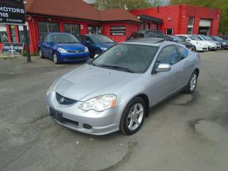 Used 2002 Acura RSX Premium/ LEATHER /ROOF / ALLOYS / A/C / 4 CYLINDER for sale in Scarborough, ON