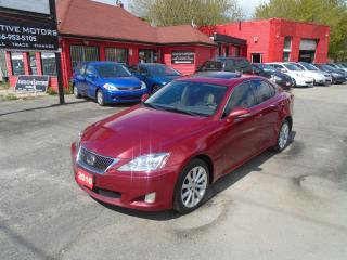 Used 2010 Lexus IS 250 AWD / LEATHER / ROOF / PUSH START / REAR SENSORS / for sale in Scarborough, ON