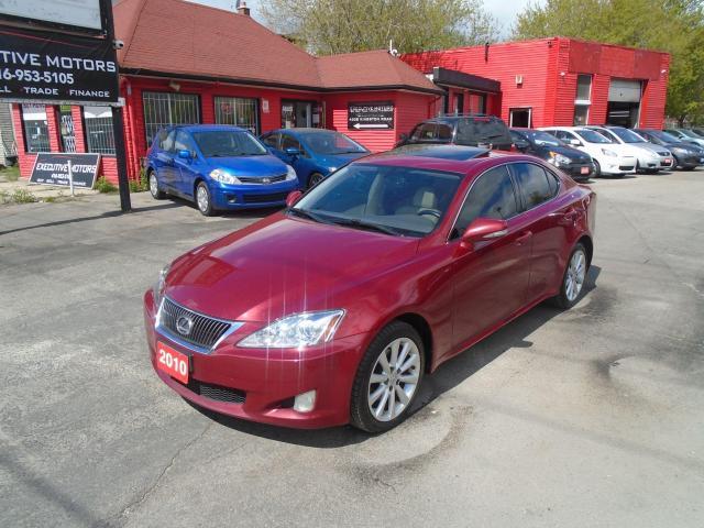 2010 Lexus IS 250 AWD / LEATHER / ROOF / PUSH START / REAR SENSORS /