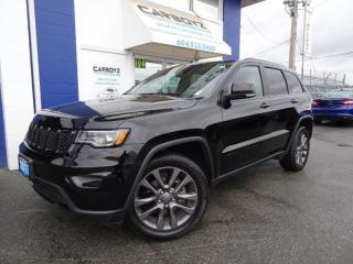 Used 2017 Jeep Grand Cherokee Limited 4WD Luxury Group, BLACKED OUT! Pano Roof for sale in Langley, BC