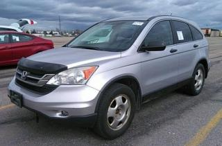 Used 2010 Honda CR-V LX for sale in Stouffville, ON