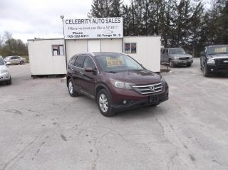 Used 2012 Honda CR-V AWD Touring for sale in Elmvale, ON