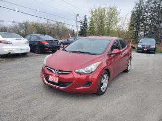 Used 2011 Hyundai Elantra GLS CERTIFIED for sale in Stouffville, ON