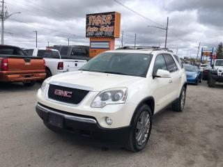 Used 2010 GMC Acadia SLT2*DVD*LEATHER*SUNROOF*7 PASSENGER*AS IS SPECIAL for sale in London, ON