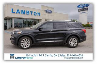 Used 2020 Ford Explorer LIMITED for sale in Sarnia, ON