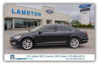 Used 2018 Volkswagen Passat HIGHLINE for sale in Sarnia, ON