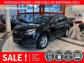 Used 2016 Chevrolet Equinox LS AWD for sale in Richmond, BC