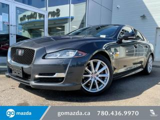 Used 2017 Jaguar XJ PORTFOLIO - NAV, LEATHER, HEATED AND COOLED SEATS, LUXURIOUS AND SPORTY! for sale in Edmonton, AB