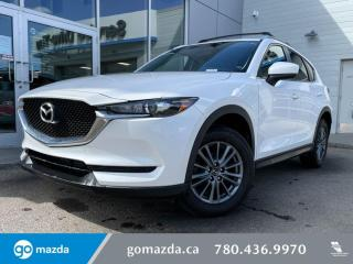 Used 2017 Mazda CX-5 GX - CLOTH, BACK UP,BLUETOOTH, BLINDSPOT AND MORE! for sale in Edmonton, AB