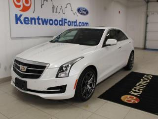 Used 2015 Cadillac ATS Sedan Luxury AWD for sale in Edmonton, AB