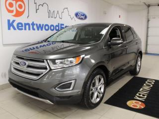 Used 2015 Ford Edge Titanium | AWD 302a | Sunroof | Hitch | NAV | Heated Steering/Seats for sale in Edmonton, AB