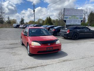 Used 2001 Honda Civic LX for sale in Komoka, ON