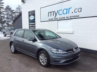 Used 2019 Volkswagen Golf 1.4 TSI Comfortline ALLOYS, HEATED SEATS, BACKUP CAM, BLUETOOTH!! for sale in North Bay, ON