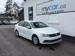 Used 2017 Volkswagen Jetta 1.4 TSI Trendline HEATED SEATS, BACKUP CAM, BLUETOOTH!! for sale in North Bay, ON
