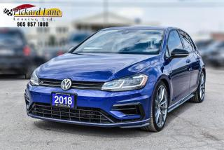 Used 2018 Volkswagen Golf R 2.0 TSI GOLF R!   ACCIDENT FREE!   ONTARIO VEHICLE! for sale in Bolton, ON