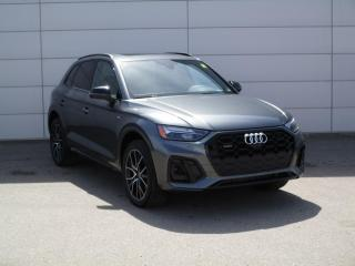 New 2021 Audi Q5 45 Progressiv S Line Black, NAV, CARPLAY for sale in Regina, SK