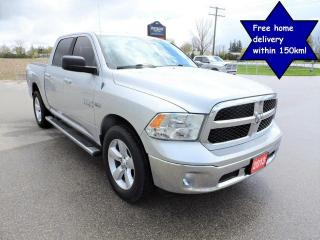 Used 2013 RAM 1500 SLT Hemi 4X4 Seats 6 Loaded Only 126000 km for sale in Gorrie, ON