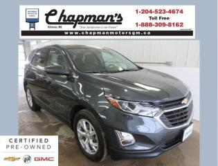 Used 2018 Chevrolet Equinox LT Remote Start, Rear Vision Camera, Heated Front Seats for sale in Killarney, MB