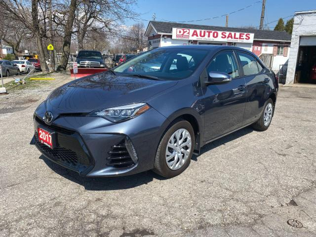 2017 Toyota Corolla Automatic/Htd Seats/Bluetooth/Rev Cam/Certified