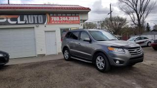 Used 2012 Hyundai Santa Fe Limited w/Navi for sale in Edmonton, AB