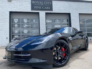 Used 2018 Chevrolet Corvette 1LT// Clean Carfax//  Low KM// Automatic for sale in Guelph, ON