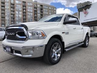 Used 2018 RAM 1500 Longhorn No Accidents, Sunroof, Heated Seats, Heated Steering, Rear View Camera for sale in North York, ON