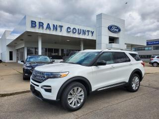 New 2021 Ford Explorer LIMITED for sale in Brantford, ON