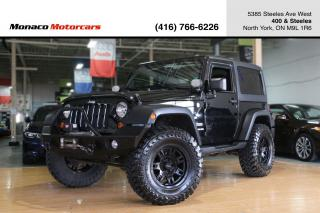 Used 2013 Jeep Wrangler SPORT M/T - SOFT TOP & HARD TOP|MT WHEELS for sale in North York, ON