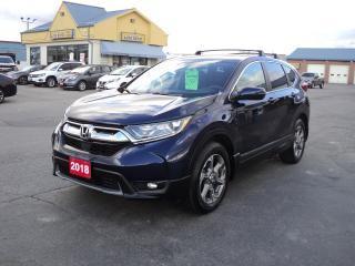 Used 2018 Honda CR-V EX 1.5L AWD Moonroof HeatedSeatsBackCamRemoteStart for sale in Brantford, ON