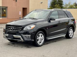 Used 2012 Mercedes-Benz M-Class ML 350 BlueTEC  Navigation /Panoramic Sunroof /Leather for sale in North York, ON