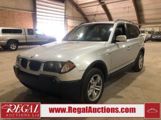 Used 2004 BMW X3 SI 4D UTILITY 3.0I AWD for sale in Calgary, AB