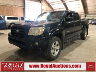 Used 2005 Toyota TACOMA SR5 DOUBLE CAB 4X4 V6 4WD for sale in Calgary, AB