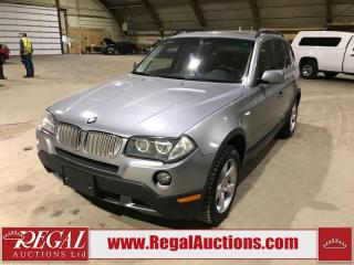 Used 2007 BMW X3 3.0 SI 4D UTILITY 3.0SI AWD for sale in Calgary, AB