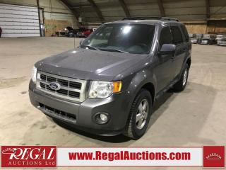 Used 2011 Ford Escape XLT 4D Utility for sale in Calgary, AB