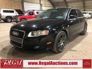 Used 2007 Audi A4 S 4D SEDAN QTRO 2.0T AWD for sale in Calgary, AB