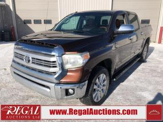 Used 2014 Toyota TUNDRA 1794 EDITION CREW MAX 4WD 5.7L for sale in Calgary, AB