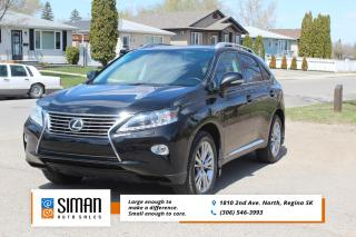 Used 2013 Lexus RX 350 PREMIUM WITH NAVIGATION for sale in Regina, SK