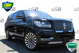 Used 2018 Lincoln Navigator L Reserve ONE OWNER NO ACCIDENTS CERTIFIED for sale in Hamilton, ON