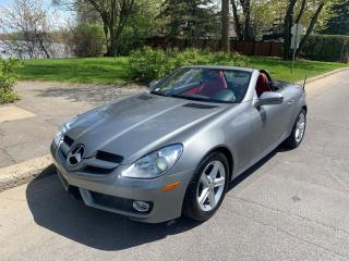 Used 2009 Mercedes-Benz SLK for sale in Roxboro, QC