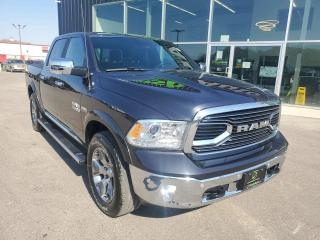 Used 2018 RAM 1500 Longhorn NAV, Sunroof, Heated Seats & Wheel, Trailer Brake Controller!!! for sale in Ingersoll, ON