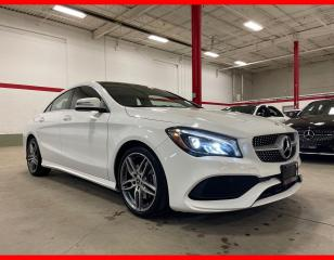 Used 2018 Mercedes-Benz CLA-Class CLA250 4MATIC NAVIGATION PANORAMIC PREMIUM PLUS SPORT for sale in Vaughan, ON