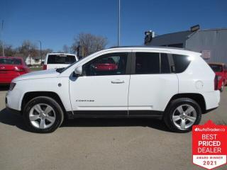 Used 2014 Jeep Compass 4WD 4dr North - Heated Seats/Bluetooth for sale in Winnipeg, MB